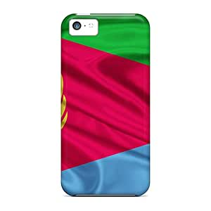 New Premium JamesRGy Eritrea Flag Skin Case Cover Excellent Fitted For Iphone 5c
