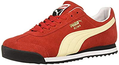 PUMA Men's Roma Suede Fashion Sneaker