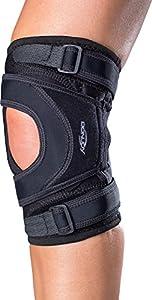 DonJoy Tru-Pull Lite Knee Support Brace: Left Leg, X-Large