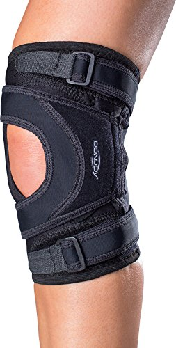 - DonJoy Tru-Pull Lite Knee Support Brace: Left Leg, Medium