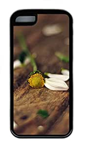 for ipod Touch 4 Case nature flower colorful 21 TPU for ipod Touch 4 Case Cover Black