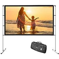 HENZIN 4K Ultra HD 100 Inch Projector Screen