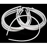 "1/4"" White Plastic Hair Headband - 36 Pieces"