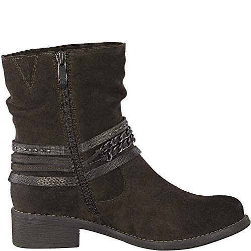 Marco Tozzi Brn Suede 26050 Ankle Boot wrRHqwpA4x