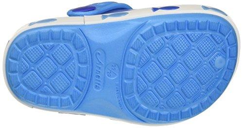 Walt Disney S17124waz - Patucos de Material Sintético para niña Turchese (Azzurro)