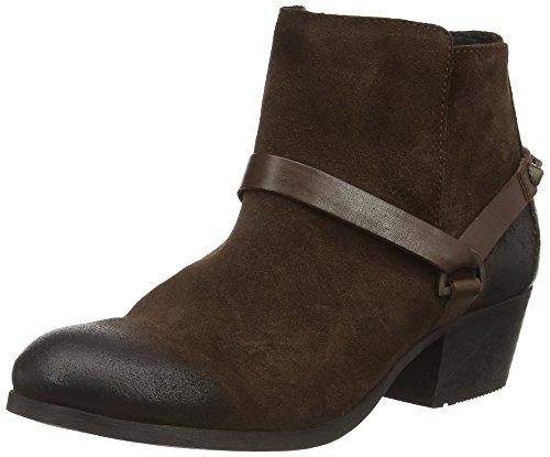 Hudson Ayelen - Botas de cuero mujer marrón - marrón