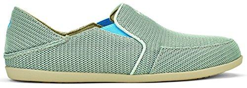 Olukai Womens Waialua Mesh Slip-On Pale Grey/Tide Blue cheap great deals buy cheap best free shipping buy buy cheap shop for amazing price online QYCW3bLU