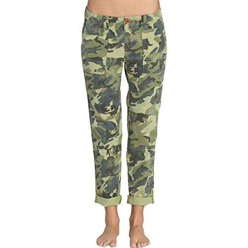 85%OFF Billabong Women's Peace Not War Camo Utility Style Pants