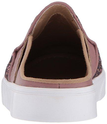 Kaanas Femmes San Rafael Contraste Talon Lacets En Cuir Casual Mode Sneaker, Rose Poussiéreux, 9 M Us