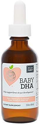 The Honest Company Baby DHA Multivitamin, 2 Ounce
