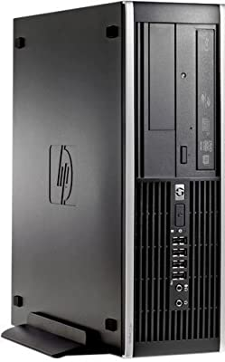 HP Elite Pro Slim Business Desktop Computer Small Form Factor (SFF) with Intel Quad-Core i5 3.1GHz, 8GB DDR3 RAM, 2TB HDD + 250GB SSD, DVD, Windows 10 Professional (Certified Refurbished)