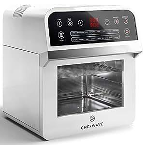 Amazon.com: ChefWave 12.6 Quart Air Fryer, Rotisserie and