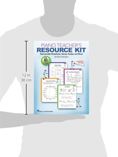 Piano Teacher's Resource Kit: Reproducible Worksheets, Games ...