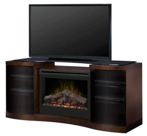 Dimplex Acton Electric Fireplace Media Console in Walnut ()