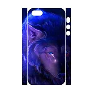Customized case Wolf Diy 3D Case for iPhone 5,5S UN877506
