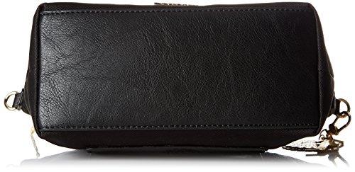 Desigual Bols_emmi Rotterdam - Borse a spalla Donna, Schwarz (Negro), 30x15x31 cm (B x H T)