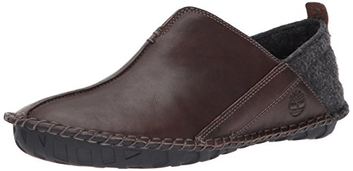 Image of Timberland Men's Front Country Lounger Moccasin, Dark Brown, 11 D US