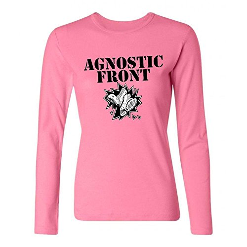 Women's Agnostic Front DIY Cotton Long Sleeve T Shirt