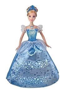 Mattel X3960 Princesas Disney - Cenicienta (con luces y melodía original)