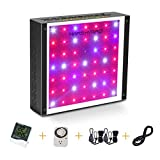 MARS HYDRO 300W 600W LED Grow Light Full Spectrum for Indoor Plants Veg and Flower Hydroponic with Thermometer Hygrometer Hanger Growing Daisy Chain and Switch Cool and Quiet (ECO 300W)