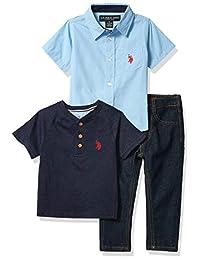 U.S. Polo Assn. Conjunto de Pantalones Juego de Pantalones para Niños