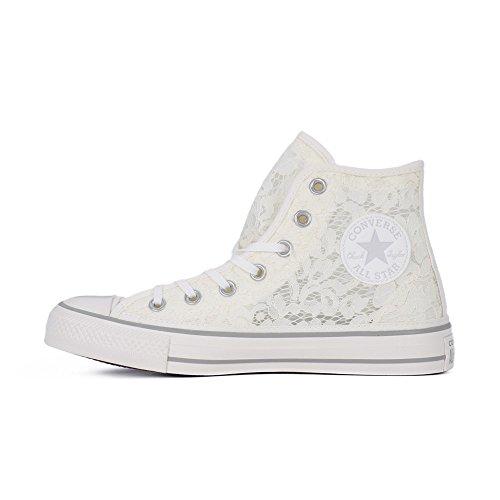 Converse Damen Sneakers - Cta Hi 561286c Witte Muis Wit / Muis