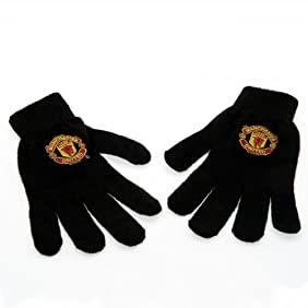 Manchester United FC Knit Gloves