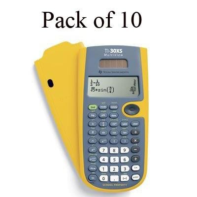 Texas Instruments - TI-30XS MultiView TK-Yellow by Texas Instruments