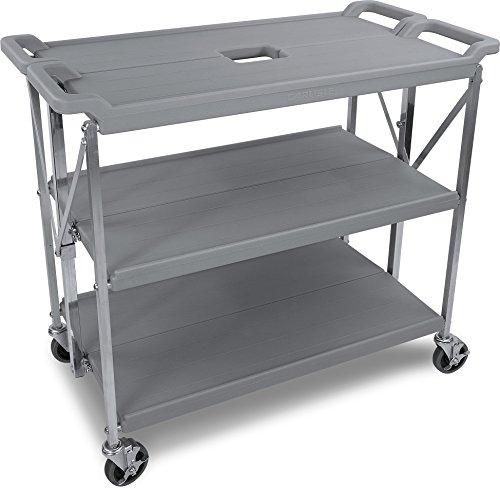 Carlisle SBC203123 Fold 'N Go Collapsible Utility Cart, 350 Pound Capacity, 31
