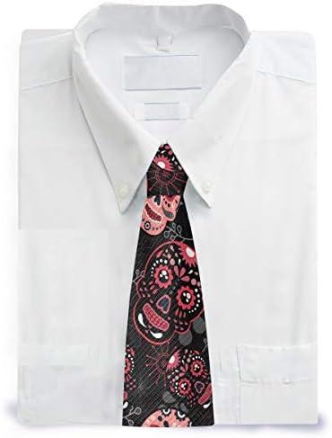 Wamika Corbata para hombre con diseño de calavera del Día de los ...