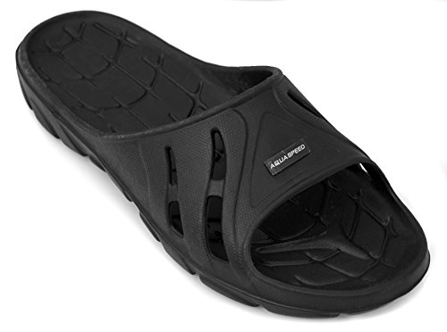 Aqua-Speed Women's Alabama Pool Shoes Black YSwRUg