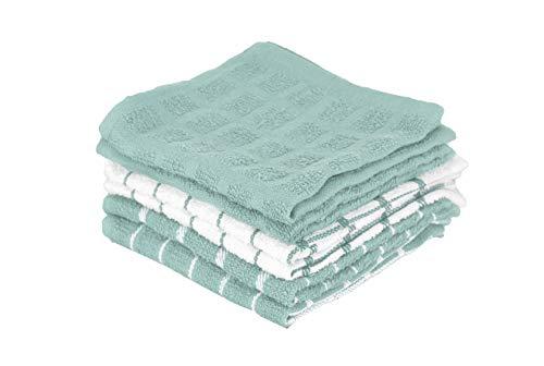 RITZ 92466 92424 Dish Cloth Set, 12 x 12, Dew