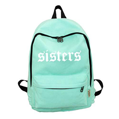 Sisters Casual Daypacks Custom Made Light Green
