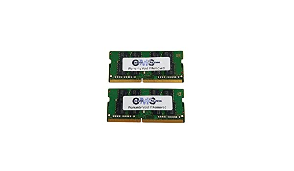 RAM Memory Compatible with HP//Compaq Zbook Mobile Workstation Studio G3 by CMS C108 2X16GB 32GB