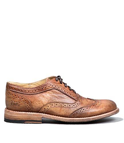 Bed Stu Women's Lita Oxford Tan Driftwood Shoe - 7 B(M) US