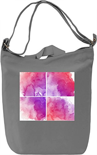Watercolor Painting Texture Borsa Giornaliera Canvas Canvas Day Bag| 100% Premium Cotton Canvas| DTG Printing|