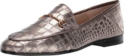 Sam Edelman Women's Loraine Loafers, Pyrite, Gold, Metallic, 7 M US ()
