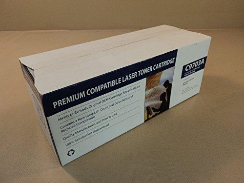C9703a Compatible Magenta Laser - Standard C9703A Compatible Laser Toner Cartridge Magenta OEM Quality CTC9703A