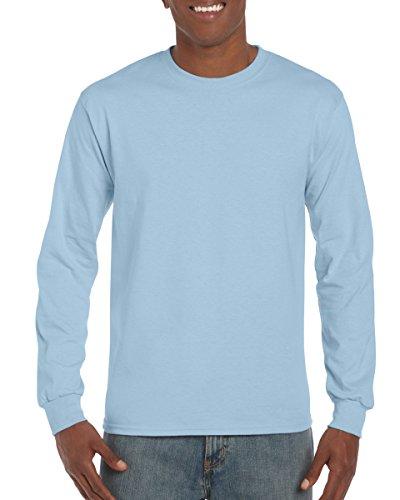 light blue shirt long sleeve - 2