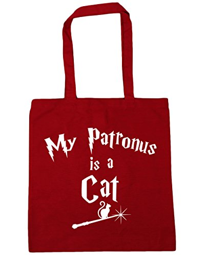 Cat Shopping Bag 10 Is Gym litres A Patronus HippoWarehouse 42cm Beach Classic My Tote x38cm Red xTUgwqI