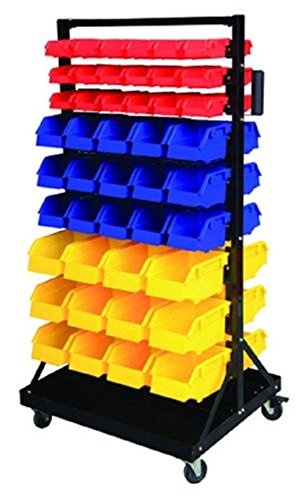 Parts Organizer Rack Bins 90 Seperate Storage Buckets Shop Small Big Nut & Bolt,NEW by Jikkolumlukka
