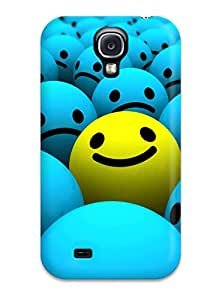 High Impact Dirt/shock Proof Case Cover For Galaxy S4 (smiley Faces) 4714992K29368472