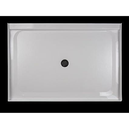 Jacuzzi CAT6042SCXXXXW Catalinau0026trade; 60u0026quot; X 42u0026quot; Rectangular Shower  Pan ...