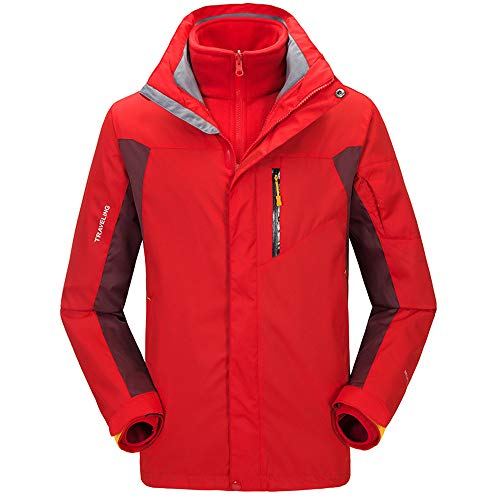 Uomo Red Giacca Ainamei Montagna Outdoor Da Con Scialpinismo TEwqwC0