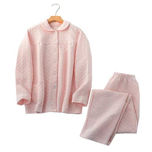Cotone Pigiama Color In Maniche Lunghe Photo Da Da A Paio Simpatici E Autunno Pantaloni Mmllse Inverno Uomo Donna PfvqSTT