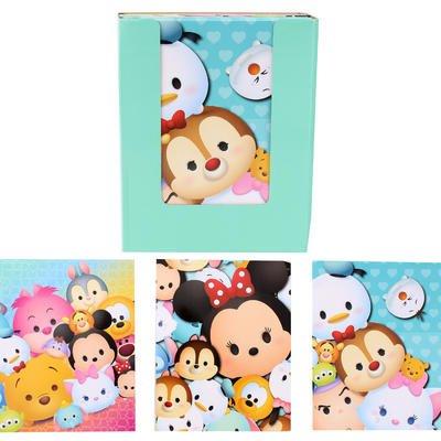3 Pk. Disney Tsum Tsum 2-Pocket Assorted Portfolio Folders