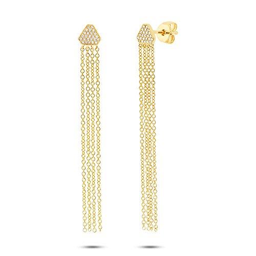 Ron Hami femme  14carats (585/1000)  Or jaune|#Gold Rond   Blanc Diamant