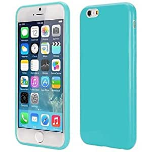FJM Slim Smooth Flexible Precise Cutouts Solid Color TPU Case for iPhone 6(Assorted Colors) , Purple
