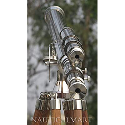 NAUTICALMART NM010888 Floor Standing Chrome Finish Griffith Astro Telescope 65