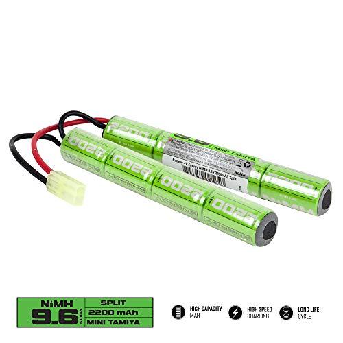 Batería Valken Airsoft - NiMH 9.6V 2200mAh Split